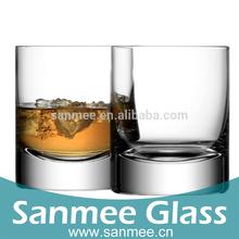 Bar Use Whisky Glass Spirit Tumbler Set Drinking Glassware