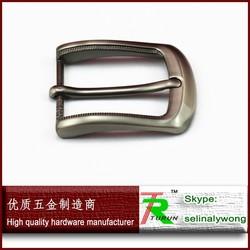 Fashion single prong belt buckles