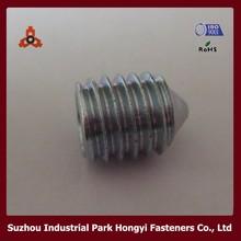 DIN914 m8x10 Hexagon socket set screws and fasteners