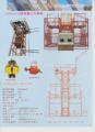 Mejor venta equipo de elevación SSD60 / 60 de construcción ascensores en china