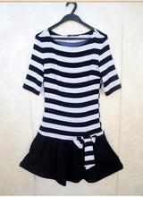 HIJ-14-WD-85-007 Stripe dress