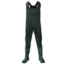 high quality 210D nylon 100% waterproof waders fishing clothing