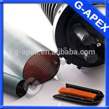 Heat shrinkable fiber optic tube