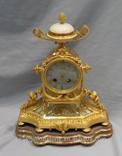 Luxury hotel antique clocks& French blass table clock