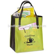 2012 New Non Woven Shopping Bag Non Woven Zip Bag Making Machine
