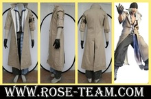 Sunshine-Final Fantasy XIII Snow Villiers long coat uniform clothes Manga Amime game Cosplay Costume halloween Christmas Party