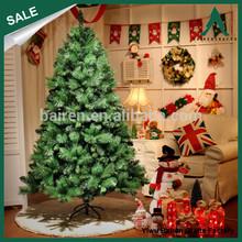 Pine Needle material Artificial metal Christmas tree 7FT Christmas decoration metal stand Christmas tree HOT SALE