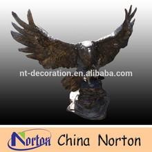 antique black brass eagle sculpture NTBH-D156