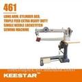 Keestar 461 industrial de longo braço máquina de costura para botas