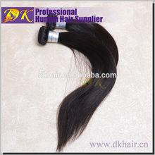 Guangzhou DK Ensure short Indian human hair weave,100% Virgin Indian short human hair piece