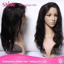 Raw grade 7A 100% virgin indian natural hair wig