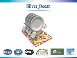 Large decorative table plate mat