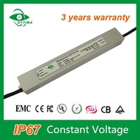 ShenZhen high quality smd led strip power supply CE IP67 waterproof 30w dimmable led driver 12v