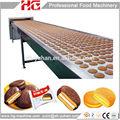 hg grupo fábrica uso completo de bolo sandwich equipamentos de produção