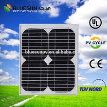 Bluesun cheap price high effeciency 10wp mono small watt solar panels