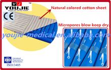 High Quality Ocean Blue Anti Decubitus Soft Waving Massage Mattress Bed Pad
