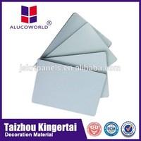 Alucoworld Offering Quality Plastic Aluminum Composite Panel copper clad aluminum wire