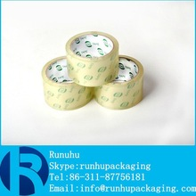 china factory for bopp water acrylic carton sealing adhesive packing tape