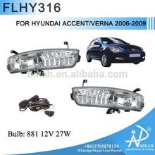 Fog Light For HYUNDAI ACCENT/VERNA 2006-2009 For Fog Lamp