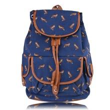 New Girl Canvas Vintage Flower Backpack School canvas backpack Wholesale SV004106