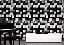 SPN-16103 Home Wallpaper Stone, Hot Bedroom Designs, PVC Wallpaper