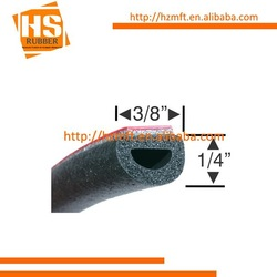 D shape adhesive rubber extrusion for automotive made in China