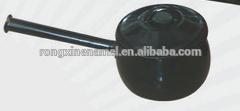 enamel pot with long handle