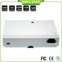 Business & education 3D LED DLP 3800 lumens digital cinema projector price
