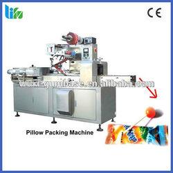 High speed automatic ball lollipop flow pillow horizontal packaging machinery