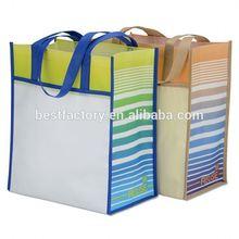 foldable design custom glossy lamination non woven bags