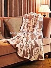 200*180cm 230g coral fleece embossed blanket