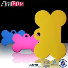 Wholesale cheap reddingo qr code bone shape pet id dog tags for small pets