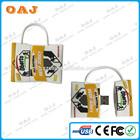 Best quality professional bag shape bulk 128mb usb flash drives