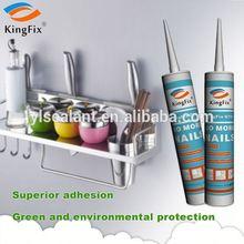 white color 320ml tube multi-use nail liquid sealant for Plaster