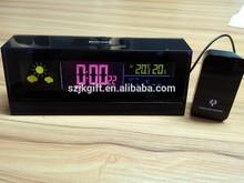 2015 new rf 433mhz wireless weather station clock forecast clock