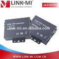 Lm-k101tru usb kvm extender& teclado mouse 100m com cat5/6& rj45& vga