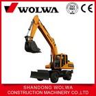 wolwa high quality wheeled hydraulic excavator DLS150-9A