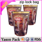 Yason hot mini zipper foil potpourri herbal incense tamper-proof tear notch pouch packing fruit juice zipper bags mylar heat sea