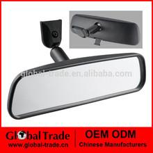 "8"" Black Round Self Adhesive Anti-glare mirror Car Vehicle interior mirror A0373"