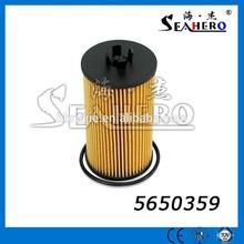 Golden manufacturer auto oil filter 5650359