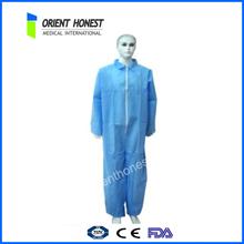 2015 caliente de la venta de seguridad / desechable no tejido uniforme promoción