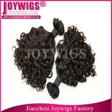 Wholesale 7A grade virgin Peruvian hair bundles , braid on weft