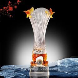 High quality tiny eagle crystal decoration vases golf