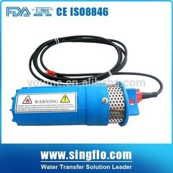 Singflo 6LPM 24 volt solar submersible water pump/solar powered water pump/solar water pumps for wells