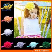 Flower Chiffon Cute Fashion Baby Hairbands Girls Headband Infant Hairband Baby Hair Accessories