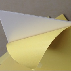 2.0mm hot sale Double-side Adhesive PVC sheet for photo album