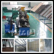 light weight steel frame c channel metal stud roll forming machine/ C U L W light gauge steel channel frame roll forming machine