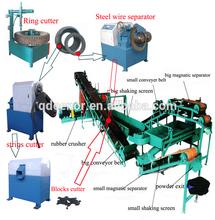 Macchina di gomma/ricorso a impianti di riciclaggio della gomma/gomma dei pneumatici impianti per il riciclaggio