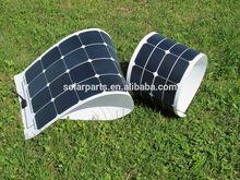 21% efficiency 100W flexiable solar panel sunpower cell PV solar panel