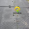 Los humedales rodways hecha de material de uhmwpe/temporal de alta calidad esteras/alfombrillas por carretera